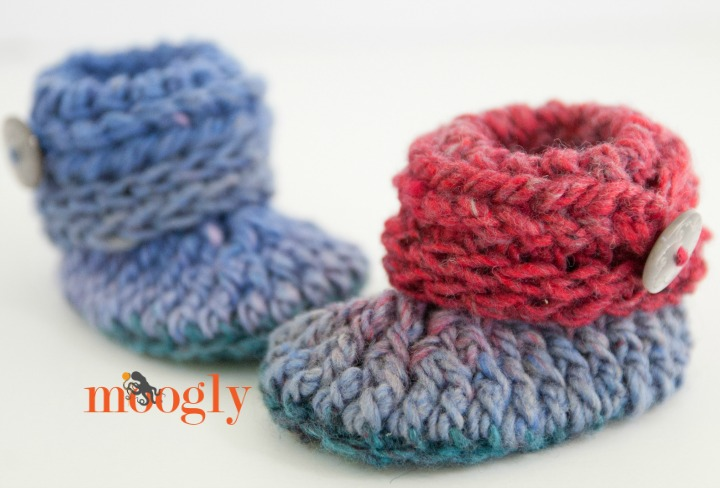 Ups And Downs Baby Booties Moogly