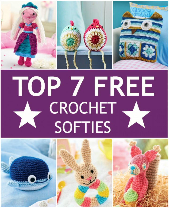 Top 7 Free #Crochet Softies!