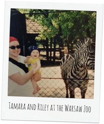 At the Warsaw Zoo!