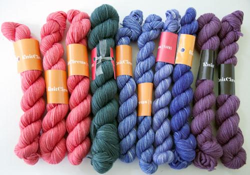 Knit Circus Yarns