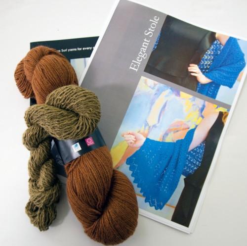 North American Suri Company Yarn!