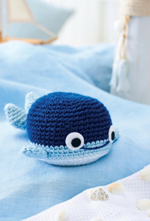 Blue Whale and Narwhal amigurumi patterns - Amigurumi Today | 738x500