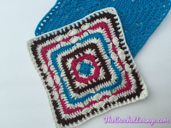 Block #14 in the Moogly Afghan CAL for 2015! Get all 24 blocks FREE at Mooglyblog.com!