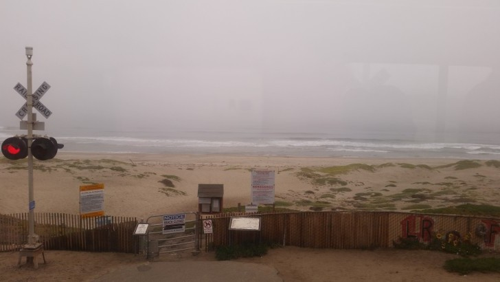 View from the Pacific Surfliner