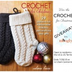 """""""Crochet For Christmas"""" Book Giveaway on Moogly!"""