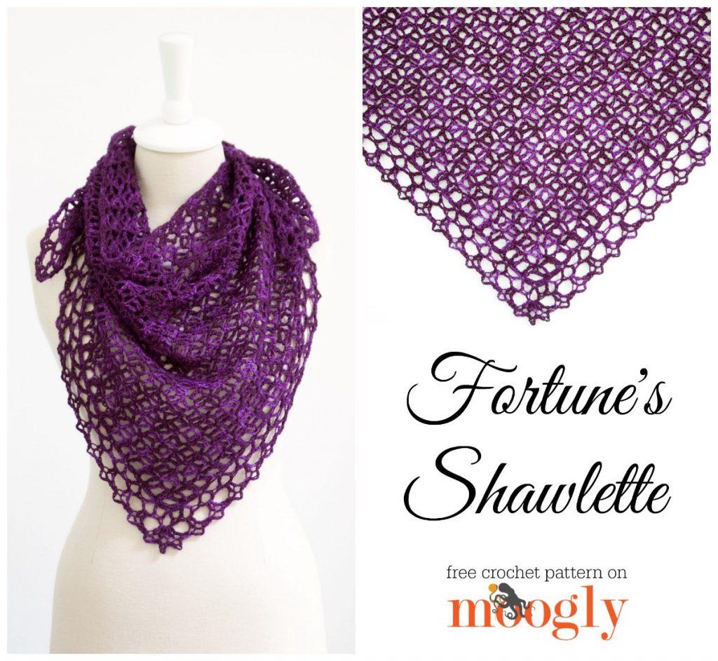 Fortune\'s Shawlette - moogly