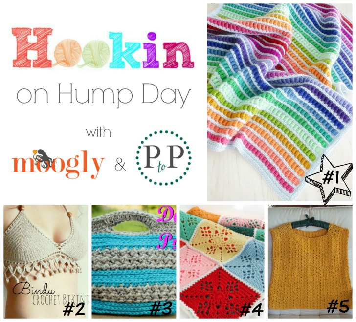 HOHD #98 - the best and brightest yarn blogging projects from around the web! Get all the links and make your own!
