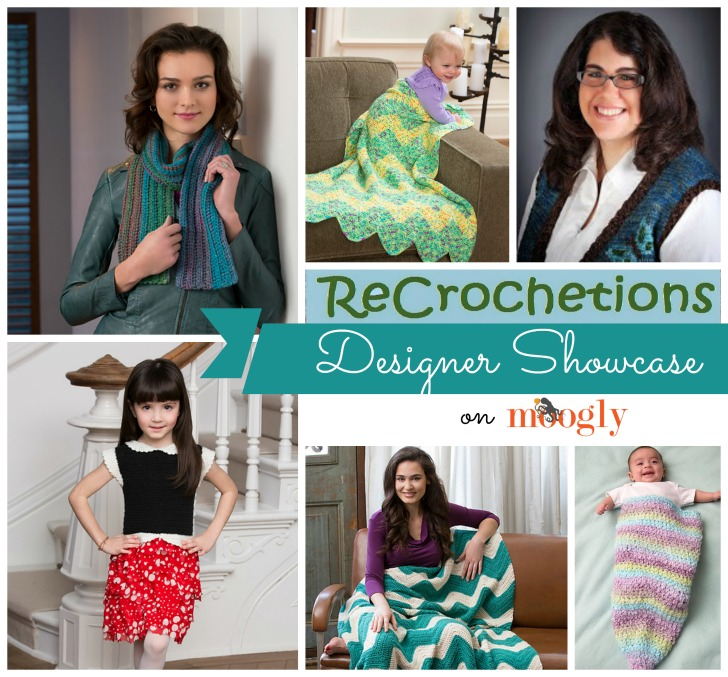 Laurinda Reddig Designer Showcase - including 5 free crochet patterns! On Mooglyblog.com