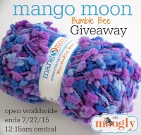 Mango Moon Bumble Bee Yarn Giveaway on Moogly! Open WORLDWIDE, ends 7/27/15 at 12:15am