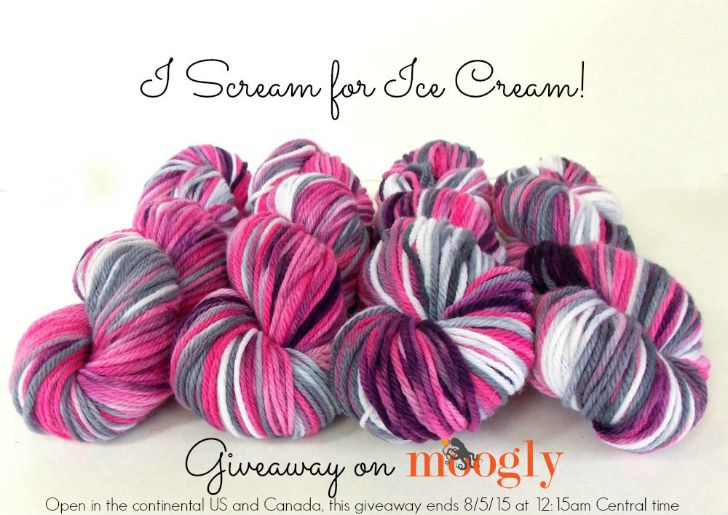 Enter to win the Fiberartsy Yarn Giveaway on Moogly! Open to addresses in the Continental US and Canada. The giveaway entry period ends 8/5/15 at 12:15am