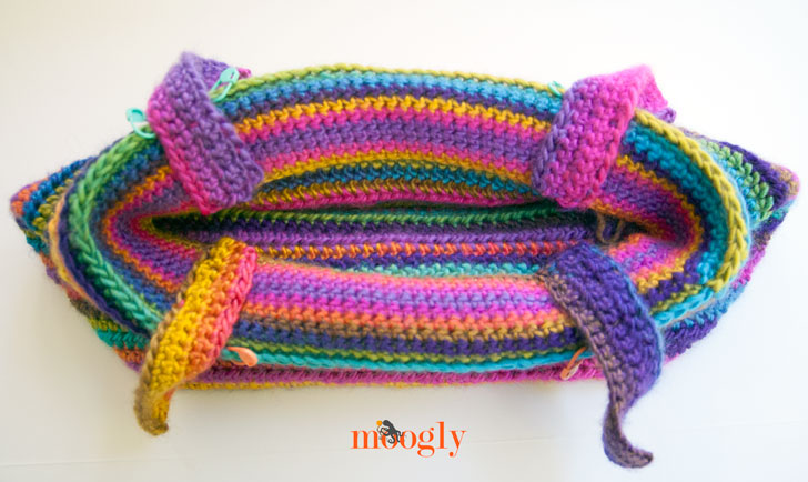Boardwalk Bag - FREE crochet pattern on Mooglyblog.com!