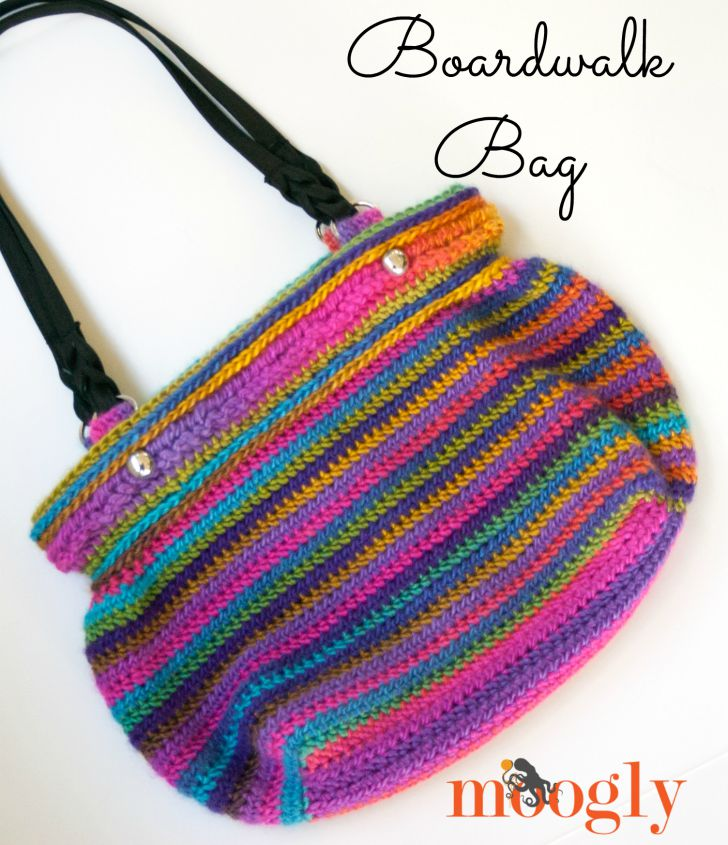 Boardwalk Bag - FREE crochet pattern on Mooglyblog.com!