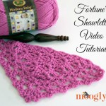 Fortune's Shawlette Tutorial: Videos and Charts