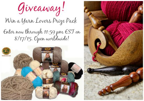 HOHD 100 - Celebrating 100 Rounds of the Hookin On Hump Day Link Party, with more fab projects and a BIG giveaway from Furls Fiberarts and Lion Brand Yarns!! Get all the details at Moogly and Petals to Picots! End date is on the photo!