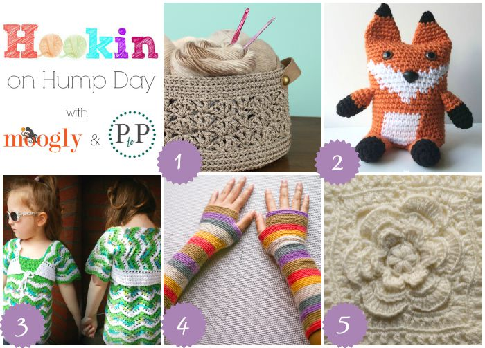 HOHD 100 - Celebrating 100 Rounds of the Hookin On Hump Day Link Party, with more fab projects and a BIG giveaway from Furls Fiberarts and Lion Brand Yarns!! Get all the details at Moogly and Petals to Picots!
