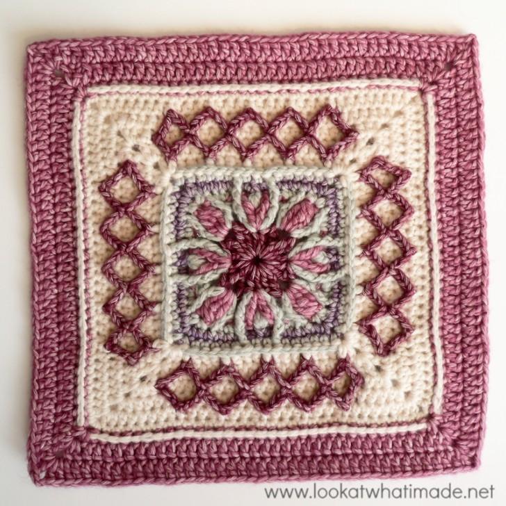 Block #17 in the Moogly 2015 Afghan Crochet-Along!