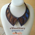 eWoodStory #Crochet Necklace Kit Giveaway!
