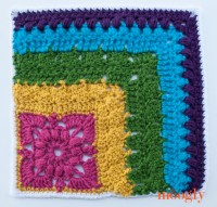 Block #20 in the Moogly 2015 Afghan CAL - French Corner!