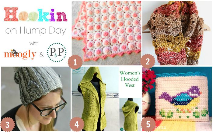 Hookin On Hump Day 103 - the best crochet knit yarny link party around! Check out all the fab FREE patterns this week!