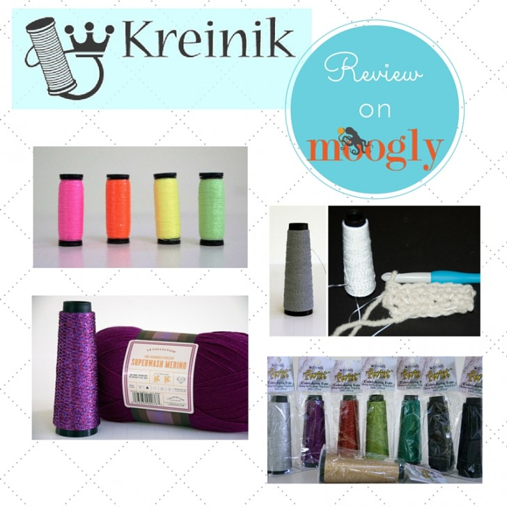 Kreinik - add shimmer, sparkle, reflective, or glow in the dark to ANY yarn!