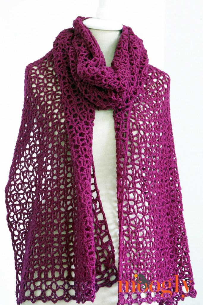 Fortune's Wrap - free crochet pattern on Moogly!