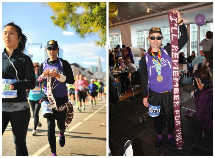 "Support ""The Knitting Runner"" in his support of Alzheimer's Research - mooglyblog.com"