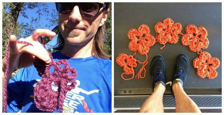 """Support """"The Knitting Runner"""" in his support of Alzheimer's Research - mooglyblog.com"""