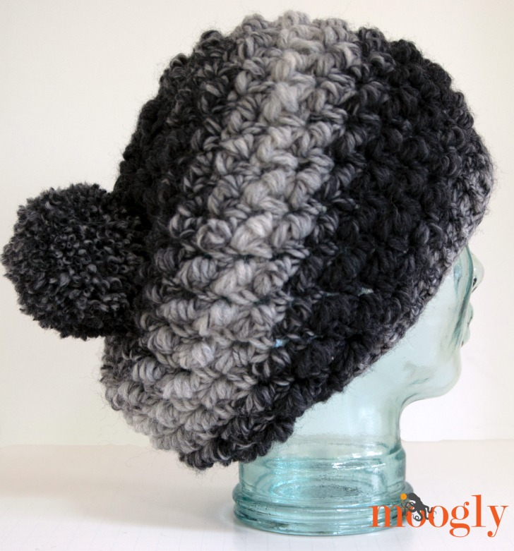 Squish Slouch Crochet Hat Moogly