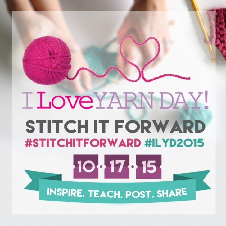 Celebrate I Love Yarn Day 2015!!