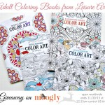 Leisure Arts Adult Coloring Books Giveaway on Moogly!