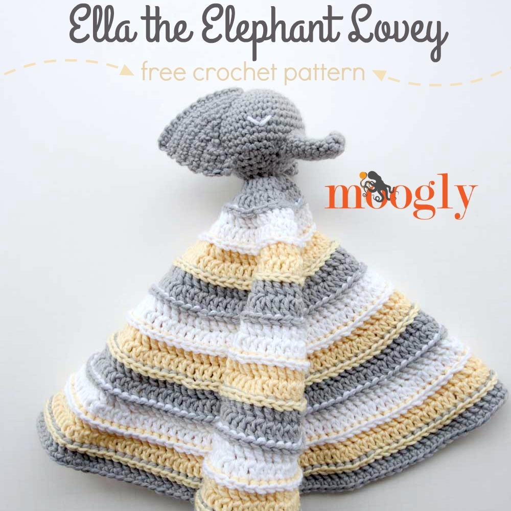 Ella the Elephant Lovey - moogly
