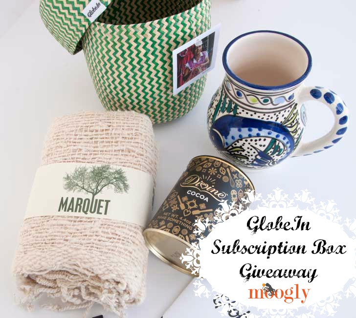 GlobeIn Cozy Box - win an artisan box on Moogly! Open worldwide, ends 11/30/15!