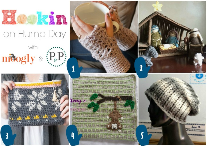 Hookin On Hump Day - get these fab crochet patterns and add your own links to this yarny link party!