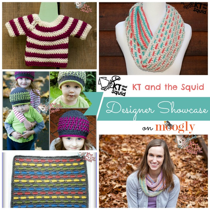 KT and the Squid - Designer Showcase with 5 FREE crochet patterns on Mooglyblog.com!