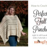 Perfect Fall Poncho Tutorial