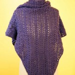Plum Pudding Shawl