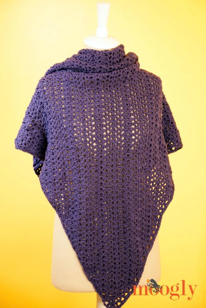 Plum Pudding Shawl by Moogly!