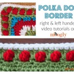Polka Dot Border Tutorial