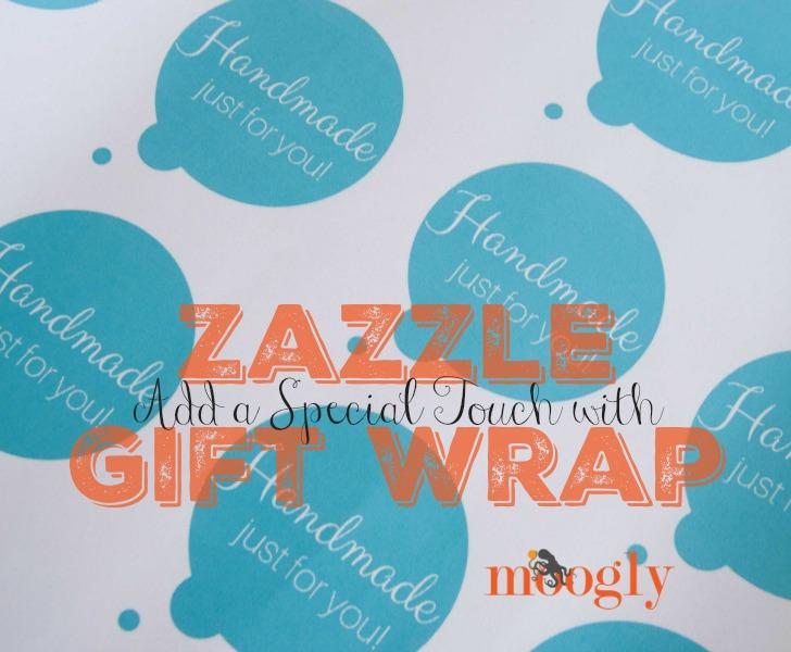 Zazzle Custom Gift Wrap - customizable!