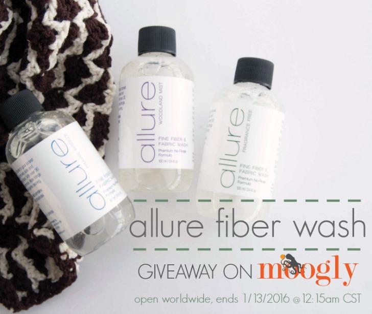 Win 2 bottles of Allure Fiber Wash on mooglyblog.com! Open worldwide, ends 1/13/16 at 12:15am CST