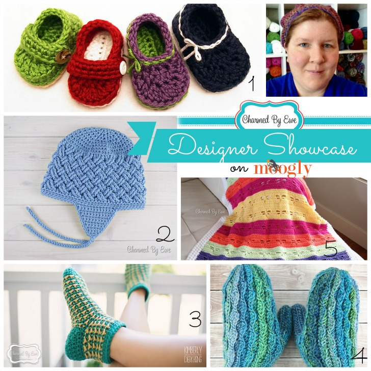 Charmed By Ewe - Designer Showcase on Mooglyblog.com - includes 5 FREE crochet patterns!