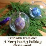 Make Crafty Crochet Ornaments!