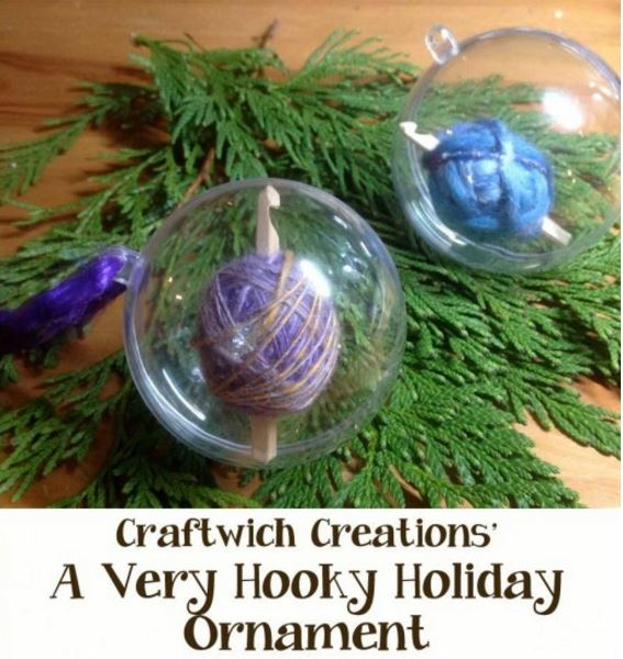 Make your own crochet ornaments!