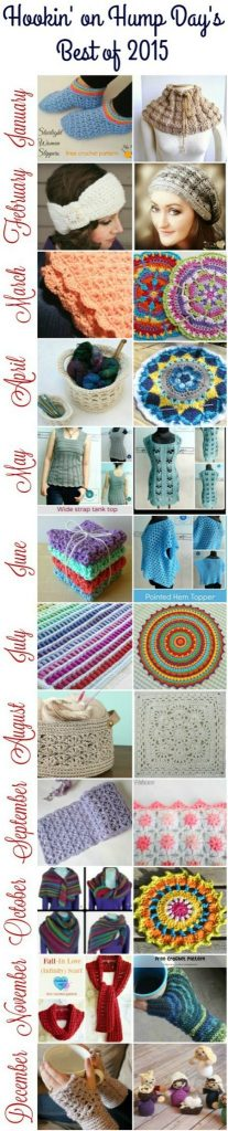 The Best of the Best Hookin On Hump Day Crochet and Knit Projects and Patterns from 2015 on Mooglyblog.com