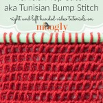 Tunisian Top Stitch/Tunisian Bump Stitch