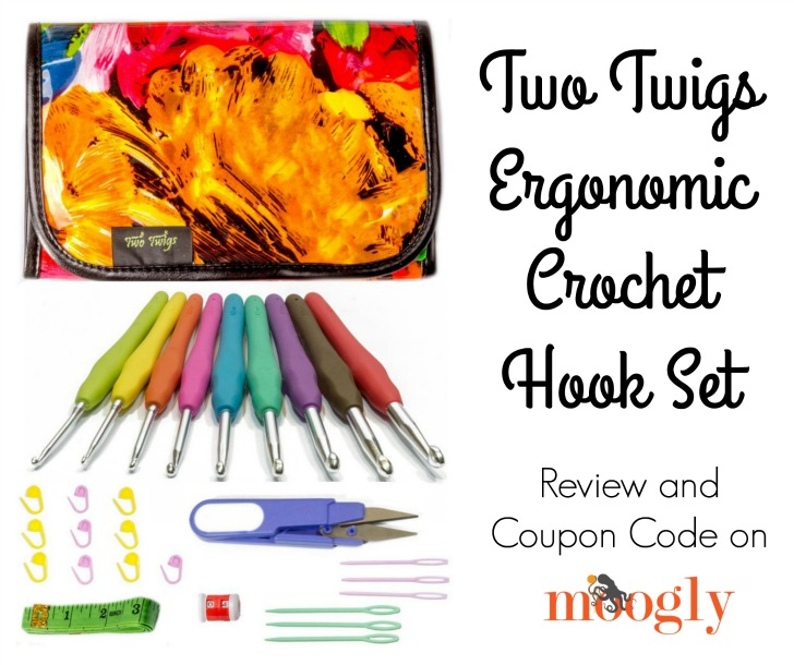 Two Twigs Ergonomic Hook Sets! Coupon code and review on Moogly!