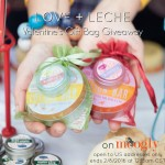 Love + Leche Valentine's Gift Bag Giveaway on Moogly!