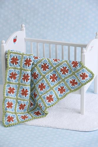Garden Arches Babyghan: Photo courtesy of I Like Crochet