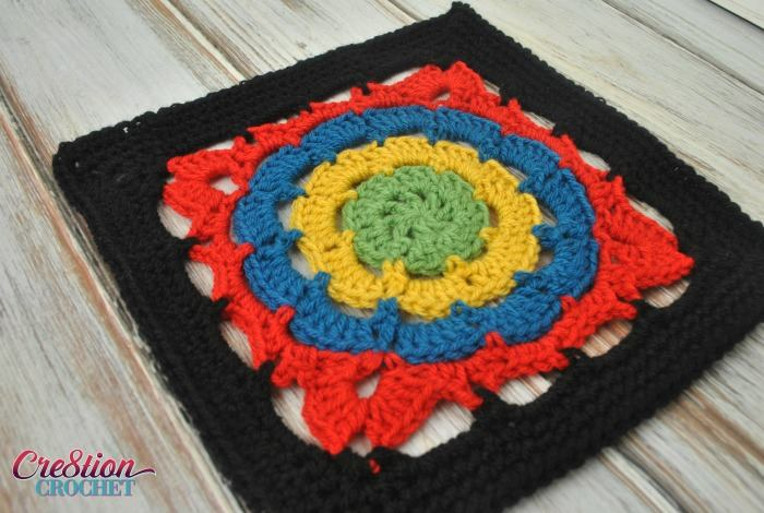 Block #4 in the Moogly Afghan Crochet Along 2016! Courtesy of Cre8tion Crochet ♥