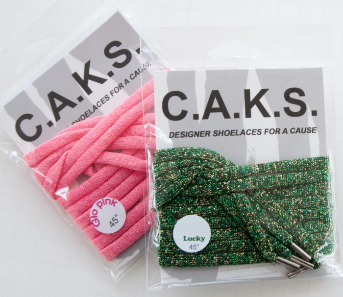 C.A.K.S. by Kreinik are shoelaces for a cause! Learn more about how you can help on Mooglyblog.com